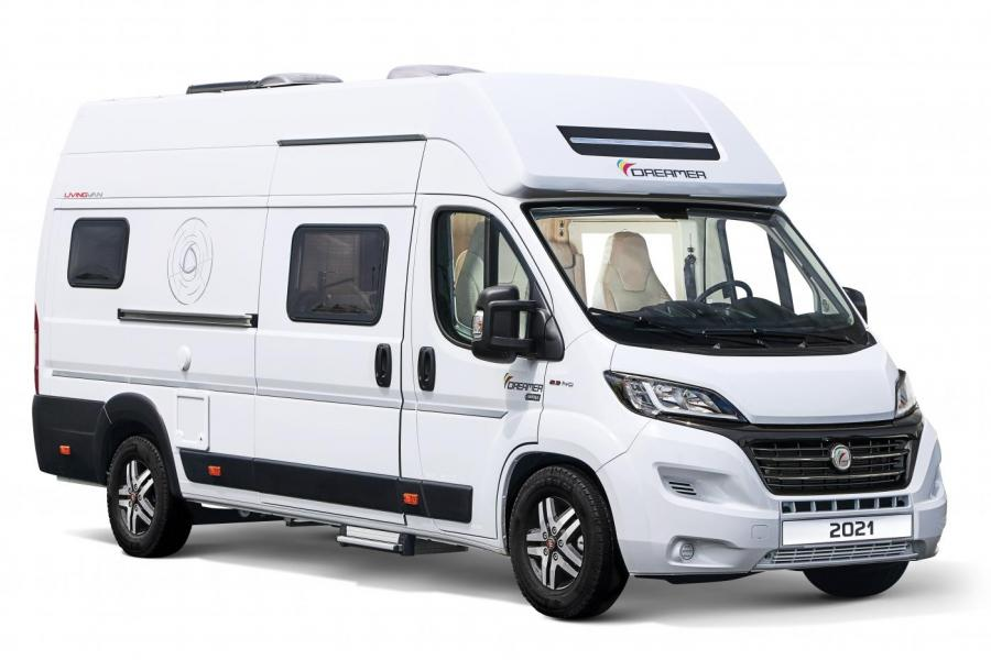 Dreamer Living Van Select 2021 in White